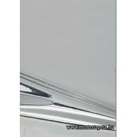 Fényes ezüst színű öntapadós fólia 45 cm * 15 m