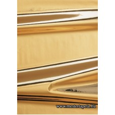 Fényes arany színű öntapadós fólia 45 cm * 1,5 m