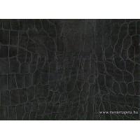 Fekete krokodilbőr mintás öntapadós fólia 45 cm * 1,5 m