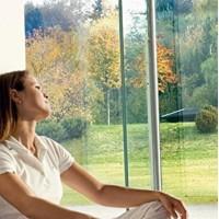 Hővédő ablakfólia 67%-os hővisszaverő, és 99%-os Uv szűrő képességgel 92 cm * 200 cm