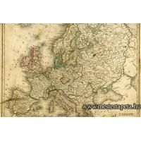 XXL Európa térkép poszter 470350